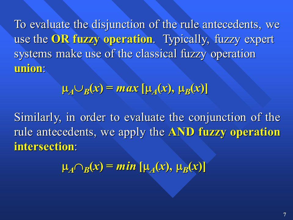 AB(x) = max [A(x), B(x)]